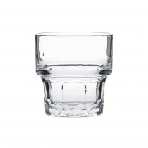 Stacking Gibraltar DuraTuff Rocks Glass Tumblers 25cl 9oz