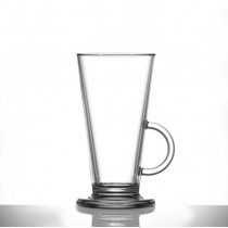 Elite Polycarbonate Latte Glasses 8oz / 230ml