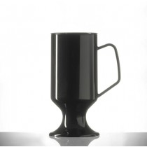 Elite Polycarbonate Coffee Cups Black 8oz / 227ml
