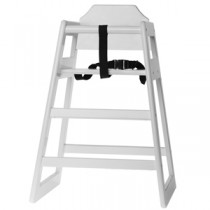 Wooden High Chair White