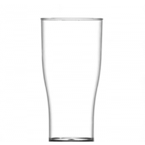 Econ Reusable Polystyrene Tulip Half Pint Glasses CE 10oz / 285ml