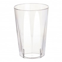 Disposable Octagonal Wine Glass 8oz / 220ml