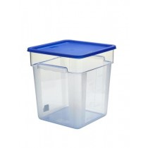 Storplus Square Lid Storage Container 11.4/17.1/20.9L Blue