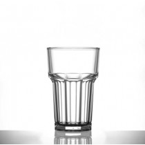 Elite Remedy Polycarbonate Half Pint Nucleated Tumblers CE 10oz