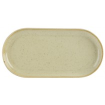 Porcelite Seasons Wheat Narrow Oval Plates 30 x 15cm