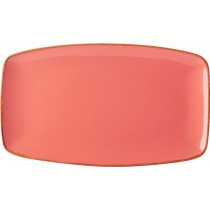 Porcelite Seasons Coral Rectangular Plate 31 x 18cm