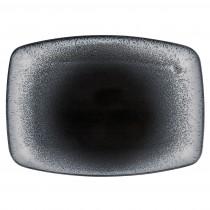 Porcelite Aura Flare Rectangular Plates 27cm