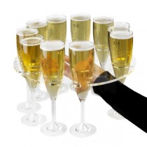 Champagne Flute Serving Tray 31cm