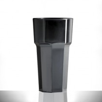 Elite Remedy Polycarbonate Tall Tumblers Black 12oz / 340ml