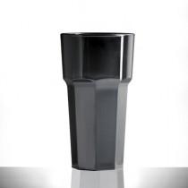 Elite Remedy Polycarbonate Tall Tumblers Black 12oz / 340ml