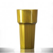 Elite Remedy Polycarbonate 12oz Tall Gold NS