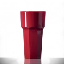 Elite Remedy Polycarbonate 12oz Tall Red NS