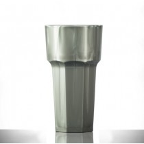 Elite Remedy Polycarbonate Tall Tumblers Silver 12oz / 340ml