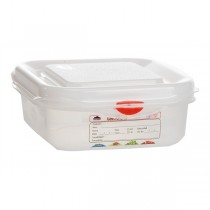 GN Storage Container 1/6 - 65mm Deep 1.1L