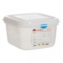 GN Storage Container 1/6 - 100mm Deep 1.7L