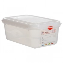 GN Storage Container 1/4 - 100mm Deep 2.8L