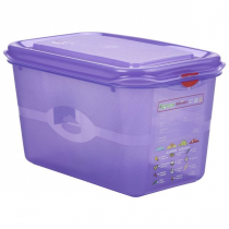 Allergen GN Storage Container 1/4 - 150mm 4.3L