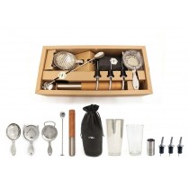 Bonzer Heritage Cocktail Kit Stainless Steel