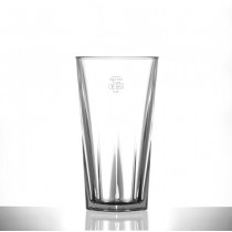 Elite Penthouse Polycarbonate Hiball Glasses 12oz LCE at 10oz