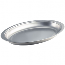 Stainless Steel Banqueting Dish 50cm