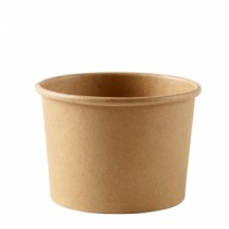Disposable Kraft Heavy Duty Soup Container 12oz / 360ml