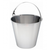 Swedish Stainless Steel Bucket 10ltr