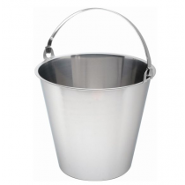 Swedish Stainless Steel Bucket 15ltr