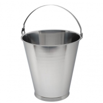 Swedish Skirted Stainless Steel Bucket 15ltr