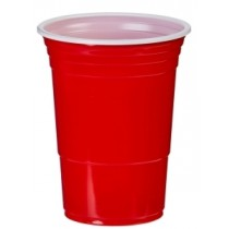 Red American Party Cups 12oz / 340ml Pack 50