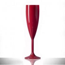 Elite Premium 6.6oz Flute Red