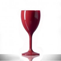 Elite Premium Polycarbonate Wine Glasses Red 11oz / 312ml
