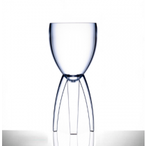 Elite Tristem Polycarbonate Wine Glasses 11oz LCE at 125ml, 175ml & 250ml