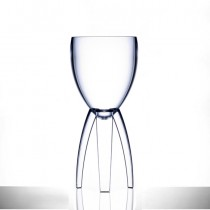 Elite Tristem Polycarbonate Wine Glasses 11oz LCE at 250ml