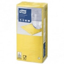 Tork Yellow Cocktail Napkins 24cm