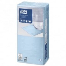 Tork Light Blue Cocktail Napkins 24cm