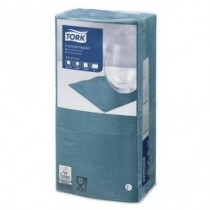 Tork Blue Green Cocktail Napkins 24cm