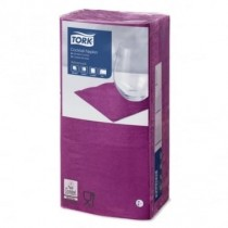 Tork Purple Cocktail Napkin 24cm