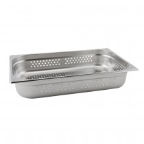 Stainless Steel Perforated Gastronorm Pan 1/1 - 100mm Deep