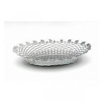 Stainless Steel Round Basket 24cm
