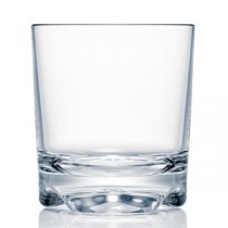 Strahl Vivaldi Polycarbonate Double Old Fashioned Tumblers 12oz