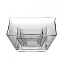 23cm Tempo Square Glass Bowl