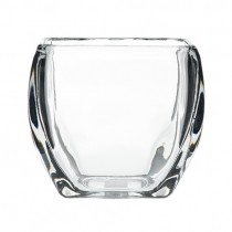 Clear Glass Square Votive Candle Holders
