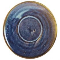Terra Porcelain Aqua Blue Espresso Cup Saucer 11.5cm