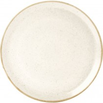 Porcelite Seasons Oatmeal Pizza Plate 28cm