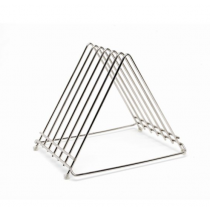 Genware Stainless Steel Chopping Board Rack