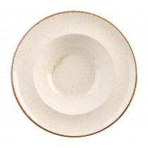 Porcelite Seasons Oatmeal Pasta Plates 26cm