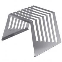 Genware Stainless Steel Rack for Chopping Boards 1/2""
