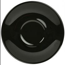 Saucer Black 12cm
