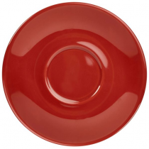 Saucer Red 12cm