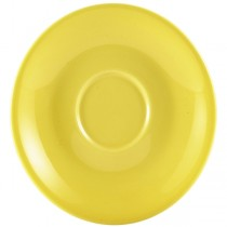 Saucer Yellow 12cm